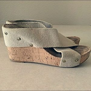 Lucky Brand Miller Cork Wedges